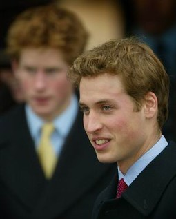 Princ William i njegov mlađi brat princ Harry
