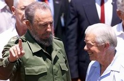 Jimmy Carter i Fidel Castro