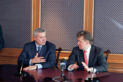 Vagit Alekperov and Aleksej Miller, leaders of Lukoil and Gazprom, agreed to establish a joint company