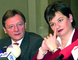 SUSANNA RIESSPASSER, the wife of Sanader's Austrian business partner, was vice chancellor in the Schüssel Government
