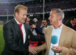 Johan Cruyff i Ronald Koeman
