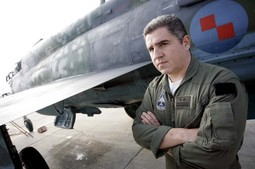 Colonel Robert Huf is the only remaining flight instructor for supersonic fighters employed by the Croatian Armed Forces