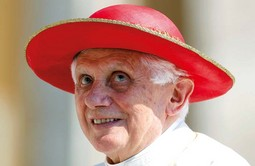 POPE BENEDICT XVI will receive Ivo Josipovic on a state visit