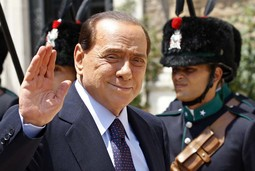SILVIO BERLUSCONI The Italian prime minister visited castle Freyenthurn - it is not clear whether he did so for the financial or other services offered there