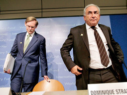 Robert Zoellick i Dominique Strauss-Kahn