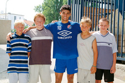 'MAMIC'S DEAL OF THE CENTURY Eduardo da Silva was brought to Dinamo from Brazil in September 1999 when he was only 15 years old for $50,000'
