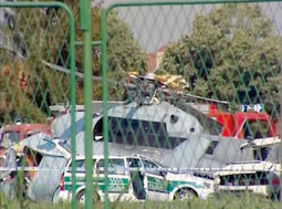 PILOT Robert Garic was unable to stabilise the helicopter despite undertaking all measures