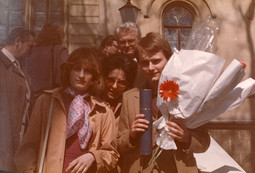 LEGAL CAREER Ivo Josipovic and his family at his 1980 graduation ceremony at the Faculty of Law