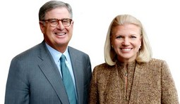 Virginia M. Rometty i Samuel J. Palmisano