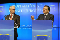 Herman van Rompy i Jose Manuel Barroso (Foto: European Commission)