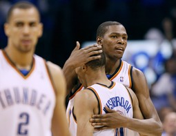 Kevin Durant i Russell Westbrook