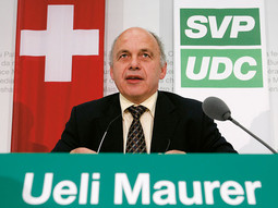 UELI MAUERER, president of the conservative Swiss People's Party