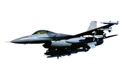 AMERICAN GIFT, a used multipurpose F-16 fighter jet