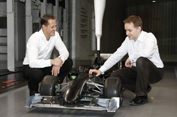 Michael Schumacher i John Owen