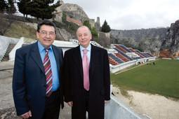 Boban i Železnjak u obnovu stadiona žele uložiti 2 mil. eura kako bi umjesto sadašnjih 4000 gledatelja mogao primiti 10.000