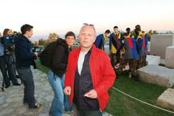 BORUT ŠEPAROVIĆ, redatelj i osnivač Montažstroja, na Medvedgradu s novom generacijom izvođača