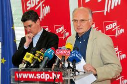 TONINO PICULA I JOSIP LEKO ubrajaju se uz Rađenovića u značajnije esdepeovce iz devedesetih, za razliku od aktualnog predsjednika stranke Zorana Milanovića