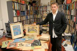 MARINKO SUDAC ponosno pokazuje pronađene umjetnine koje će baciti novo svjetlo na povijest hrvatske umjetnosti