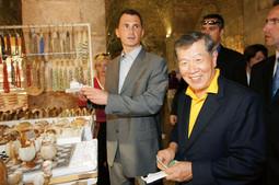 Ministar Dragan Primorac i Henry Lee, znanstvenik svjetskog glasa