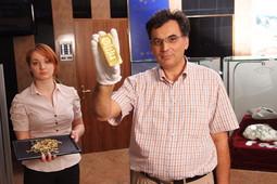 IVAN MORO prije šest godina osnovao je tvrtku Moro za prodaju investicijskog zlata; zbog velikog interesa ponudio je otkup obiteljskog nakita (na slici s djelatnicom tvrtke