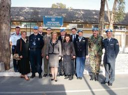 Misiju UN-a na Cipru posjetila je nekadašnja ministrica vanjskih poslova i europskih integracija Kolinda Grabar Kitarović