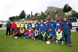 MOMČAD IMOTSKOGA od 2002. godine igra u Drugoj hrvatskoj ligi, a trenutačno se nalazi na drugom mjestu