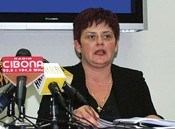 SAJONARA ČULINA predstavljala je tužiteljstvo u procesu protiv Šimića